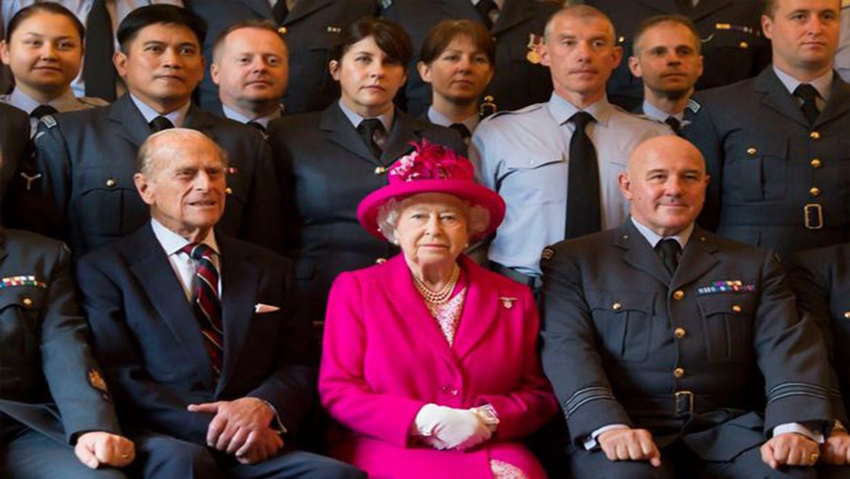 A la table de la reine d'Angleterre
