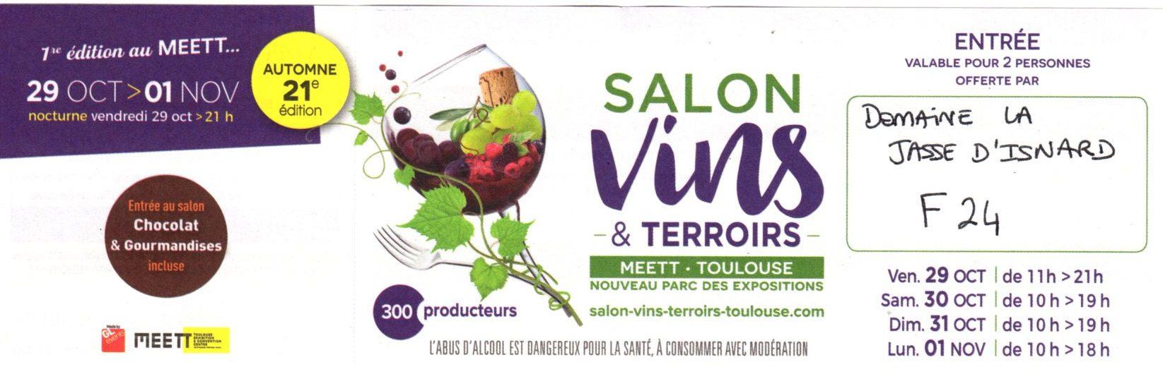 SALON VINS & TERROIRS TOULOUSE